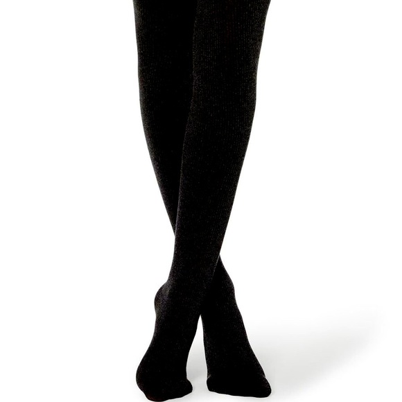 Black light weight sweater tights